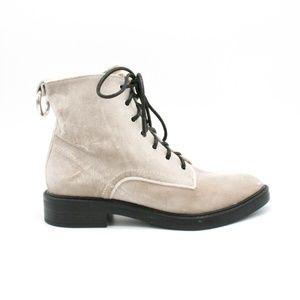 Dolce Vita Bardot Velvet Combat Boots 9
